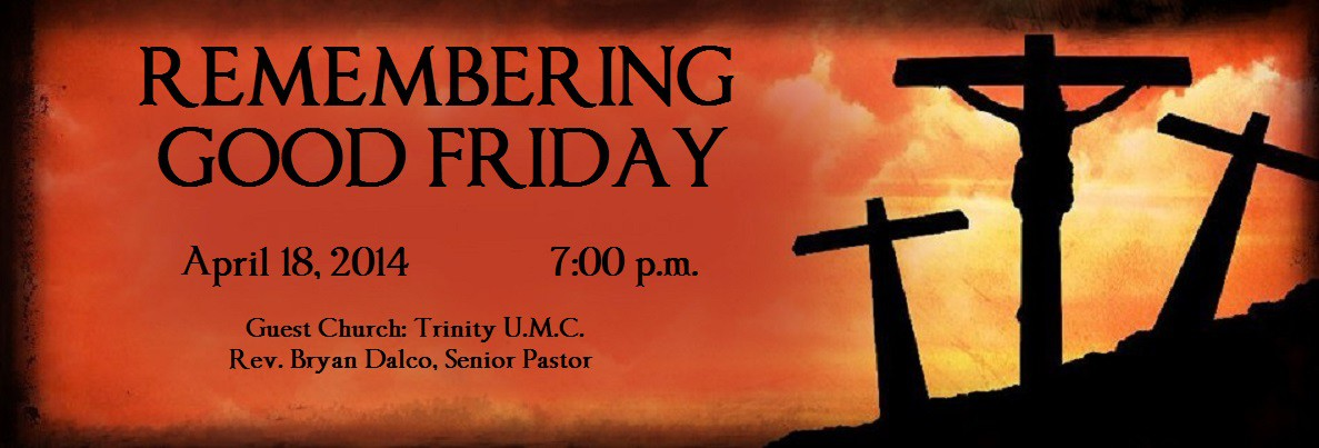 Good Friday Calvary Website Banner