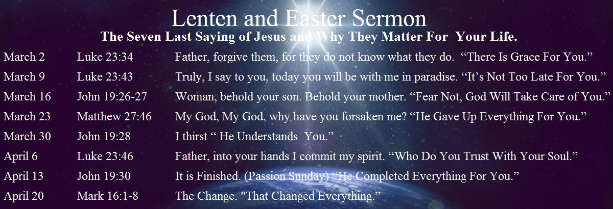 Lenten Sermon Series1