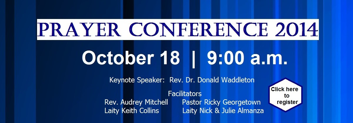 Prayer Conference 20141